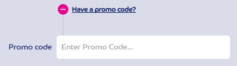 gala bingo promo code field