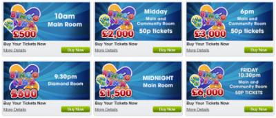 Bingo special promotions
