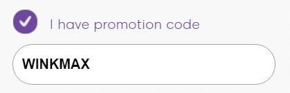 Wink Bingo promotion code