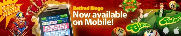 Betfred Bingo Mobile Offer