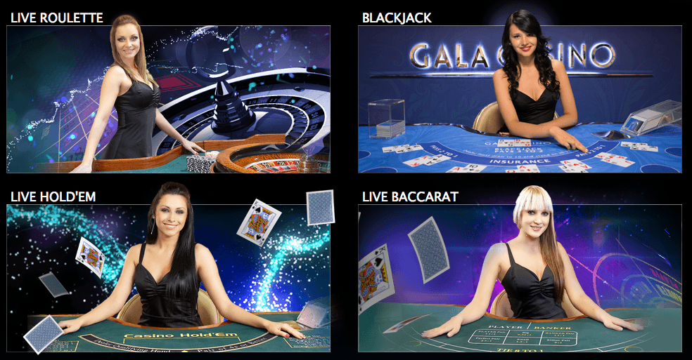 games at gala casino