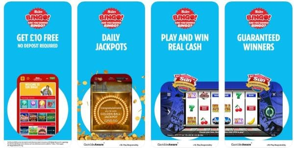 sun bingo mobile app games
