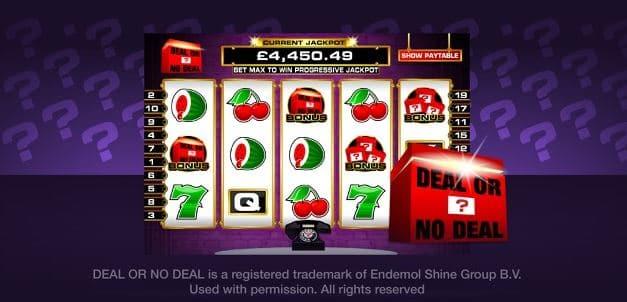 Heart Bingo Deal or no deal game