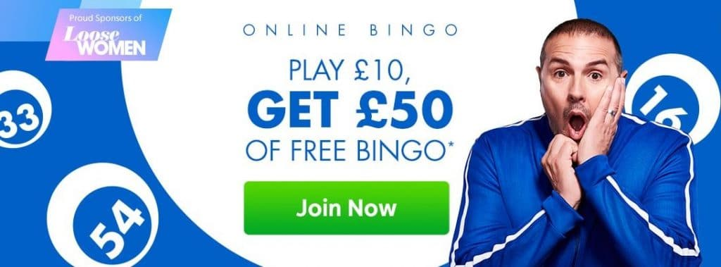 jackpotjoy welcome bonus for bingo players