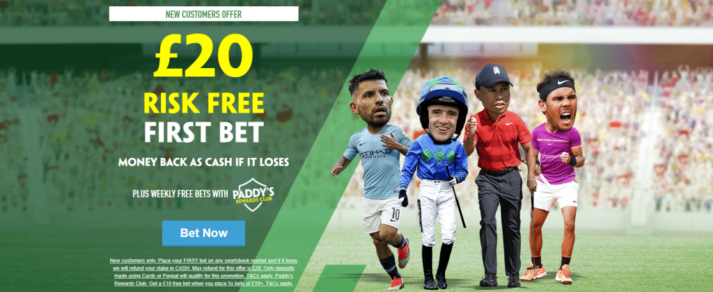 Paddy Power New Player Offers for Sports